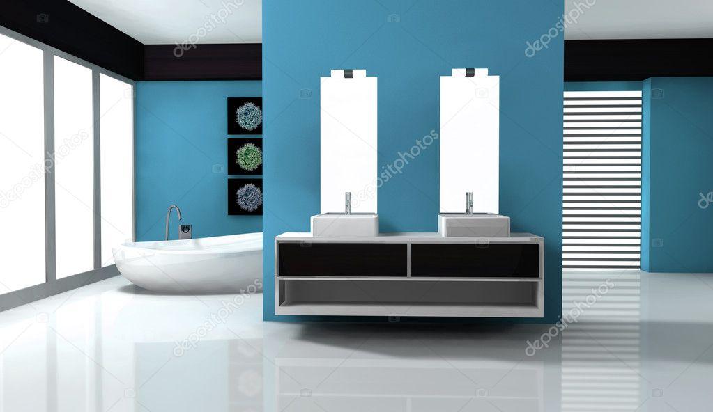 Bathroom Interior Design Stock Photo Nirodesign 10951255