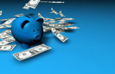 Piggybank Savings Money — Stock Photo