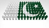 Pakistani Parade — Stock Photo