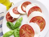 Caprese Italian Cuisine — Stock Photo