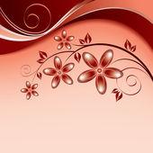 Květiny. pozadí. vektorové ilustrace eps10. — Stock vektor