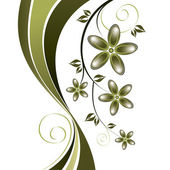 Abstract Floral Background. Abstract Illustration. — Vector de stock