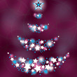 Royalty-Free Stock Vector Image: Christmas Tree. Vector Illustration.