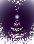 Christmas Background. Vector Illustration. — ストックベクタ