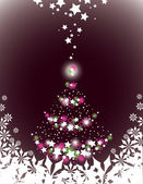 Christmas Background. Vector Illustration. — Stockvector