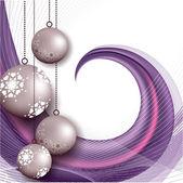Noel arka plan. vektör çizim. — Stok Vektör