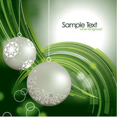 Fondo de navidad. ilustración vectorial. — Vector de stock
