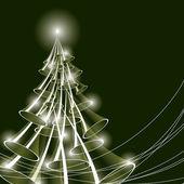 Рождественская елка. Векторные иллюстрации. — Cтоковый вектор