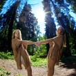 Twins in the forest — Stock Photo #11292396