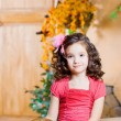 Ñhild, a little beautiful girl — Stock Photo