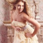 Luxury romantic girl fashion model — Stock Photo