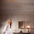 Luxury bride on a bright background — Stock Photo #11293613