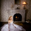 Luxury bride on a bright background — Stock Photo #11293641