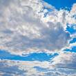 Blue sky and white clouds — Stock Photo #11293753