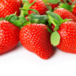 Bright juicy fresh strawberries — Zdjęcie stockowe