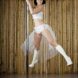 Sexy pole dance woman. — Stock Photo #11294063