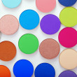 Stock Photo: colorful bright eye shadow