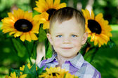 The child, a little boy — Stock Photo