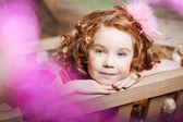 Mooi kind op de boerderij — Foto de Stock