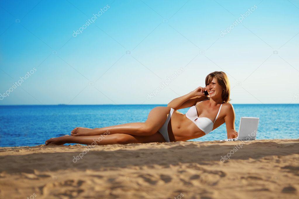 возбуждающие фото на пляже