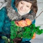 Winter woman — Stock Photo #11943459