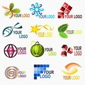 Logo elements 2 — Stock Vector