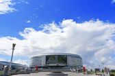 Minsk-Arena ice hockey stadium in Minsk — Stock Photo