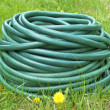 Garden hose for water — Stock Photo