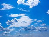美しい雲と青空 — ストック写真