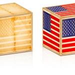American old box — Stock Photo