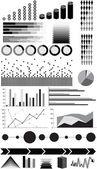 Plansza elementów — Wektor stockowy