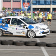 "National Championship ""Dunlop"" on June 22, 2012 in Cluj-Napoca, Romania. — Stockfoto"
