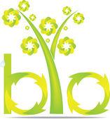 Bio design — Stock Vector