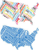 American commerce — Stock Vector