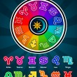 Royalty-Free Stock Vector Image: Colorful Zodiac Symbols