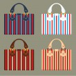 Female bags - Stock Vector