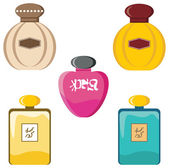 Perfumery set — Stock Vector