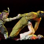 Chinese folk dance — Stock Photo #10753751