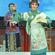 Pretty Chinese opera actress — Stock Photo