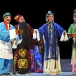 Постер, плакат: Chinese traditional opera actors with theatrical costume