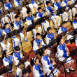 Stock Photo: Student symphonic band