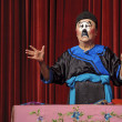 Chinese traditional mime actor - Stock Photo