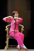Pretty chinese opera actress — Stock Photo