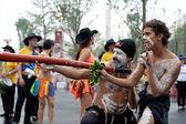 Danseurs de folk australiens — Photo