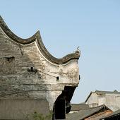 中国の伝統的な建物の屋根 — ストック写真