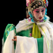 Постер, плакат: Pretty chinese traditional opera actress with theatrical costume
