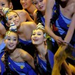 Modern dancers — Stock Photo #10767611