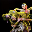 Stock Photo: Chinese folk dance