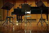 классическая концертная сцена — Стоковое фото