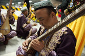 Uighur Maixirefu folk musician — Stock Photo